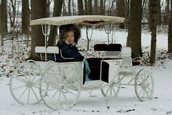 Vintage Cinderella Carriage Coach Child Size Parade Photography Girl's Bedroom!!