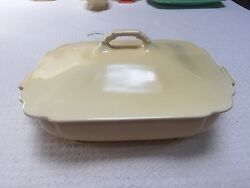 Homer Laughlin Riviera Ivory Casserole $49.00