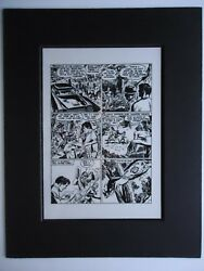 1958 CHALLENGERS OF THE UNKNOWN JACK & ROZ KIRBY # 3 POWERS Pg 11 PRODUCTION ART
