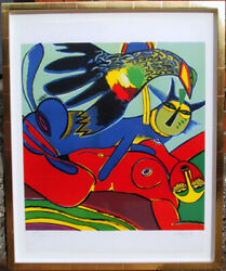 Corneille Elle se Donne a L'ete (She Gives Herself to Summer) Lithograph