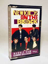 Vintage 1990 O-Pee-Chee NEW KIDS ON THE BLOCK Bubble Gum candy container #1 $12.00