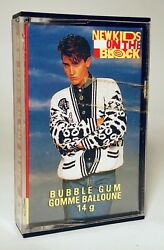 Vintage 1990 O-Pee-Chee NEW KIDS ON THE BLOCK Bubble Gum candy container #21 $12.00