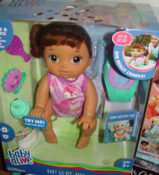Baby Alive Baby Go Bye Bye She Crawls Talks Carry Her With You