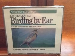 EasternCentral Birding by Ear 3 CD Peterson Field Guides 1994 New