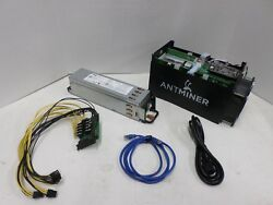 Bitmain Antminer S5 ASIC Bitcoin Miner 1.15 TH Power Supply Dell PSU Watt Mining