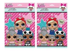 LOL Surprise Loot Favor Candy Bags Birthday Party 16 Pieces $9.99