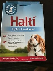 Halti OptiFit Headcollar for Dogs M Size Guaranteed To Stop Pulling Optimum Fit $16.99