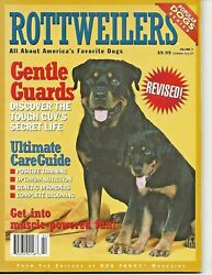 Rottweilers Magazine Volume 2 from Editors of Dog Fancy 128 Pages!