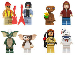 80's Characters Set of 2 E.T. Gremlins Cheech Chong Mini Figures Free Gift Bags