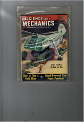 JUN 1951 SCIENCE AND MECHANICS MAGAZINE HELICOPTERS FOR WAR MS547 $9.00