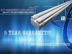 8ft Commercial LED Shop Light Fixture Garage Warehouse Retail Location 6500K