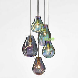 New Mondern Stained glass Suspension Pendant Lights Bar Ceiling Light Chandelier $149.99