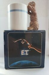 1983 AVON Ceramic E.T.  The Extra Terrestrial EVERYTHING Caddy Cup .