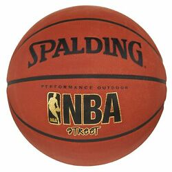 New NBA Basketball Spalding Street Outdoor Full Size 29.5quot; with Free Shipping $39.95