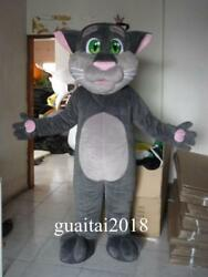 Cartoon Character Cat Mascot Costume Suits Animal Birthday Party Dress Adults US