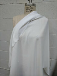 100% Cotton Crepe White Fabric By the Yard light weigh cotton Sheer see thru $6.50