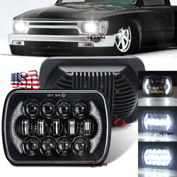 Brightest 5X7quot; 7x6 inch Rectangle LED Cree Headlight DRL for Toyota Pickup Truck $35.99