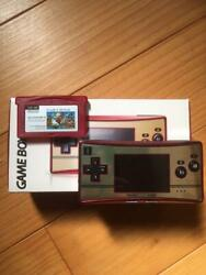Nintendo Body Game Boy Micro with Mario Brothers from jAPAN $316.10