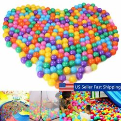 Baby Kid Pit Toy Game Swim Pool Plastic Ocean Ball 5.5cm 50100200500 LOT SALE