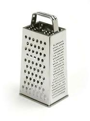 Stainless Steel Box Grater 4 Sided Cheese Vegetable Food Shredder Kitchen Tools