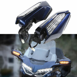 New Motorcycle Rearview Mirror Led Turn Signal For Honda Goldwing GL1800 2018