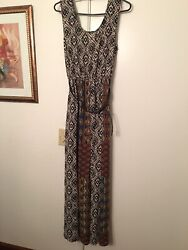 NWT Forever 21 Bohemian Maxi Dress In Size Large $15.00