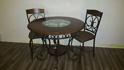 6 and 4 chair dinning room Table sets. Practically brand new.    $600.00