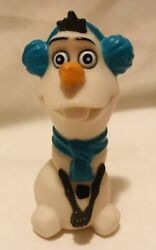 Olaf Disney Frozen With Earmuffs And Scarf Collectible Figure Cake Topper