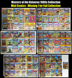 Vintage Masters of the Universe 103 Mini Comics Collection & She-Ra Comics