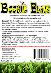 Boogie Brew Organic Garden Natural Bio Farming Black Frass Best Soil Amendment $18.95