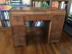 Antique Desk Waterfall Style $250.00