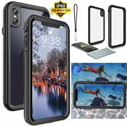 IP68 360 Full Protect Waterproof Case Shockproof Dirtproof For iPhone XS XR MAX $14.99
