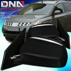FOR 2005 2007 NISSAN MURANO PAIR OE STYLE POWERHEATED DOOR MIRROR REPLACEMENT $101.75