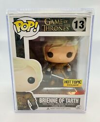 Funko POP! Game of Thrones BRIENNE OF TARTH bloody HT Excl. + hard cover