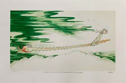 Saw Fish With Such A Long Snout That He Needed An... Dr. Seuss Art Ted Geisel $1950.00
