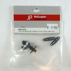 TWISTER MEDEVAC HAWK Rotor Hub and Links Set 6601670 JP Helicopter RC Parts AU $7.75