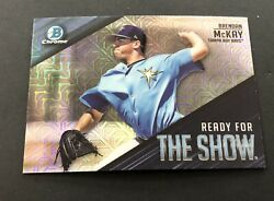 Brendan McKay 2019 Bowman Mega Box Mojo Refractor Rc Ready For The Show #14 Rays $2.99