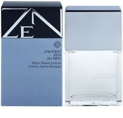 ZEN FOR MEN BY SHISEIDO AFTER SHAVE LOTION 3.3 OZ 100ML AUTHENTIC FRANCE $35.99