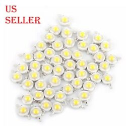1W 100 120LM SMD White Warm White LED Lamp Beads Bulb Chip High Power LED $5.64