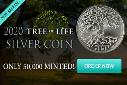 2019 1OZ PURE .999 SILVER TREE of LIFE COIN NEW ZEALAND MINT IN-STOCK!!