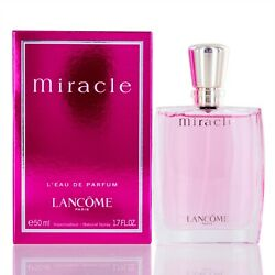 Miracle for women by Lancome Eau De Parfum spray 1.7 Oz new in box $47.46
