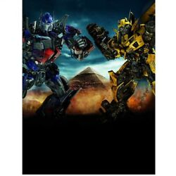6x8ft Vinyl Egypt Transformers Robot Photography Backdrop Background Banner $28.00