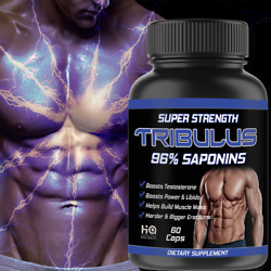 Tribulus Terrestris 7500mg Muscle Mass Testosteron Booster Strong 60 Capsules