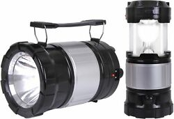 Solar Lantern Torch LED Light with Rechargeable Battery amp; USB Charger Emergency $11.99