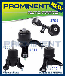 Engine Motor Mount Set 4PCS For 02-09 Toyota Camry 2.4L AT 62009 4226 4274 4295