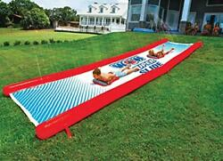 Adult and Kids Giant Water Slide Extra-Thick Heavy-Duty PVC Portable Inflatable