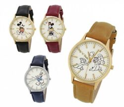 Disney Womens Classical Design Watch 4 Characters WD-B09 J-AXIS Japan Tracking $74.70