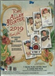 2019 Topps Allen & Ginter Baseball Blaster Box Look for Autograph & Relic Cards
