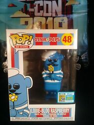 2019 SDCC Funko Otter Pops LOUIE-BLOO RASPBERRY #48 Excl. LE 1000 IN HAND + GIFT