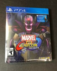 Marvel vs Capcom Infinite DELUXE Edition [ STEELBOOK Package ] (PS4) NEW